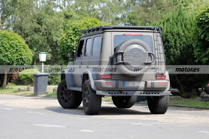 Spy photo Mercedes-AMG G 63 4x4² 2022 - exterior