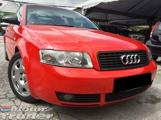 2004 Audi A4 1 8 B4 Turbo Full Leather Seats New Sport Red