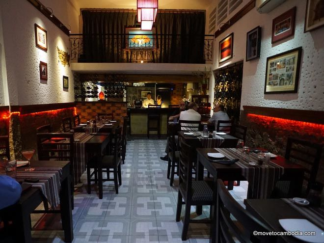The Lost Room is a Tonle Bassac hideaway that's perfect for a lovely meal or a quiet drink.