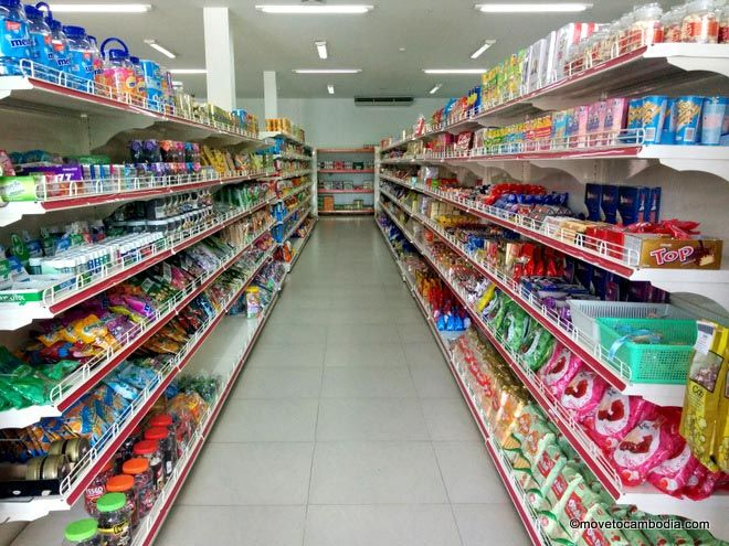 Sihanoukville supermarkets