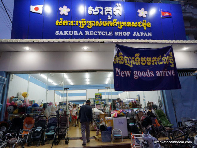 Sakura Recycle Shop Sihanoukville