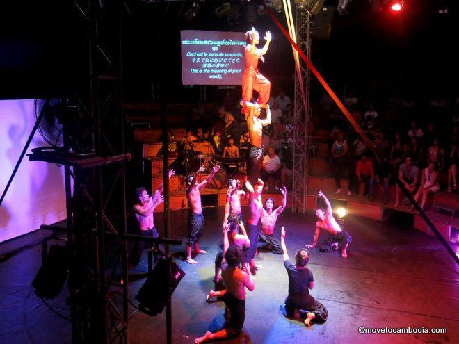 Phare, the Cambodian circus.