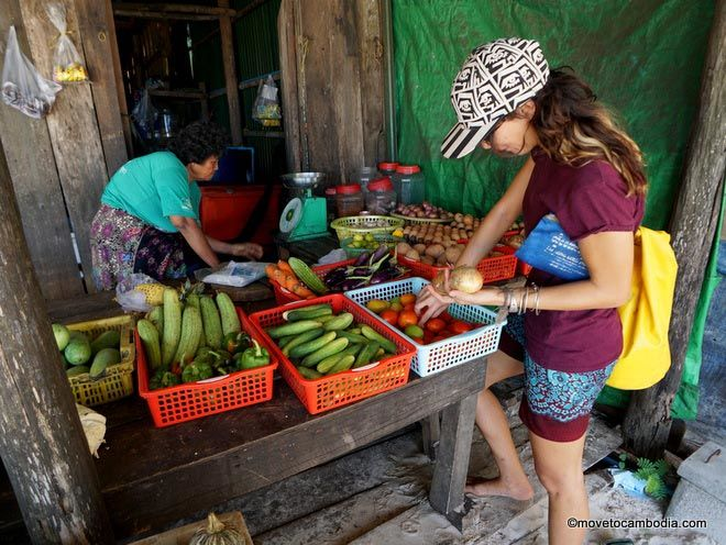 Eating vegetarian in Cambodia