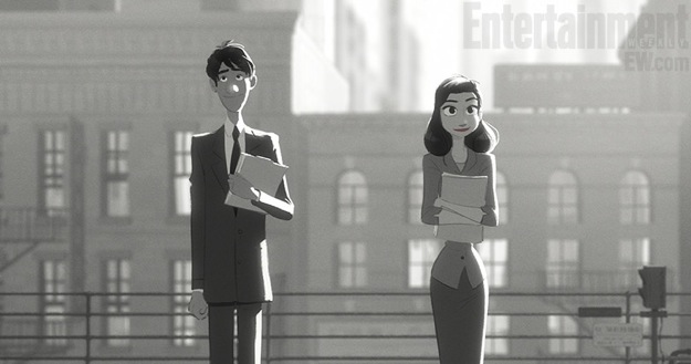Paperman Still Man and Woman