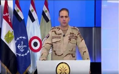 الجيش المصري: مقتل 77 إرهابيا خلال عمليات نوعية شمال سيناء