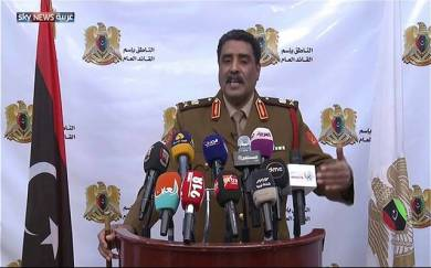 الجيش الليبي يفرض حظرا جويا بطول 200 كم فوق مدينة سرت ومحيطها