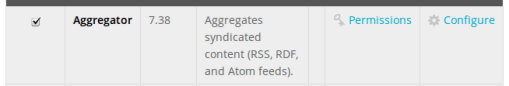 module aggregator