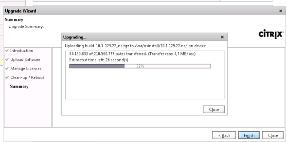 actualizacion netscaler