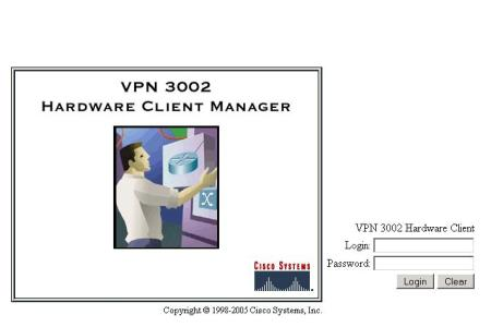 administracion cisco vpn 3002