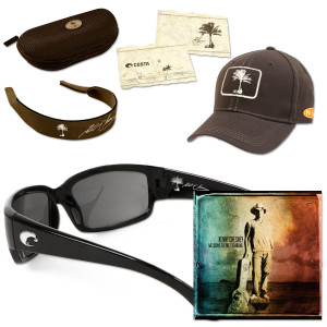 Kenny Chesney Welcome to the Fishbowl Sunglasses CD or MP3 with Caballito Sunglasses - Black Frame