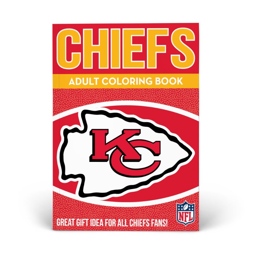 kansas city chiefs adult coloring book  shop the in the