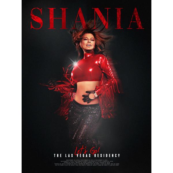 vegas poster shop the shania twain