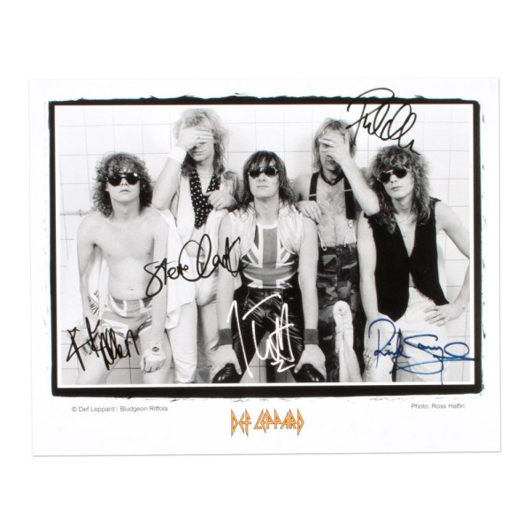 Def Leppard Band Photo | Musictoday Superstore