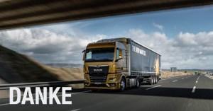 MAN Truck & Bus Deutschland spendiert Kaffee für Trucker