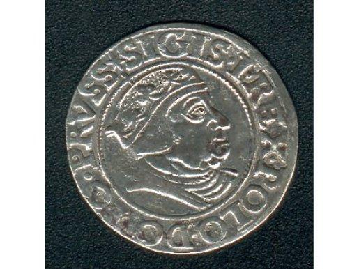 Duże zdjęcie Grosz Gdański- 1538 r-ładny