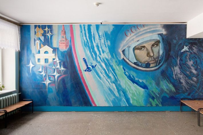 Step inside the hometown of the first human in space ...