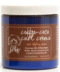 curl junkie coffee coco creme