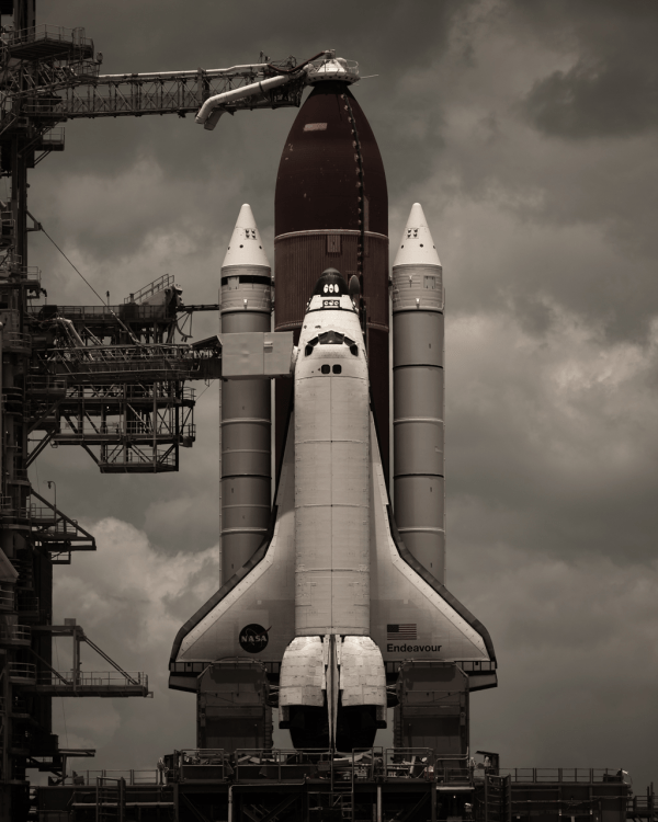 A Portrait of the Last Launches of NASA Shuttles ...