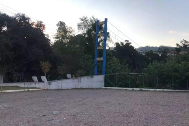 Local onde Renan teria sido visto pela última vez – Foto: Gabriela Milanezi/NDTV Blumenau