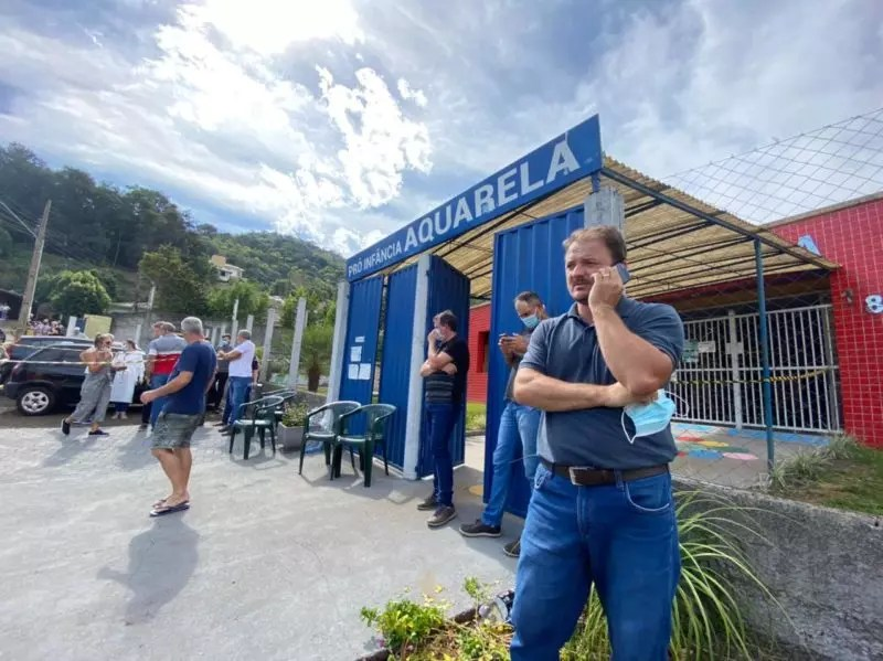 Crime deixou a comunidade de Saudades perplexa. – Foto: Willian Ricardo/ND