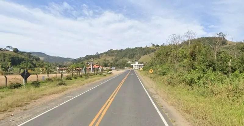 Adolescente foi encontrada morta em Alfredo Wagner – Foto: Google Street View/Reprodução/ND