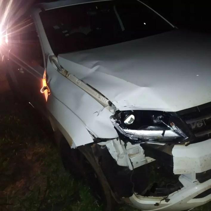 Acidente ocorreu no Paraná na noite de segunda-feira – Foto: Corpo de Bombeiros/ND