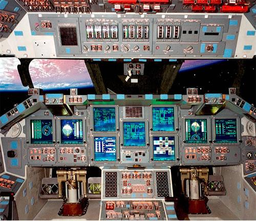 Space Shuttle Atlantis Cockpit - Neatorama