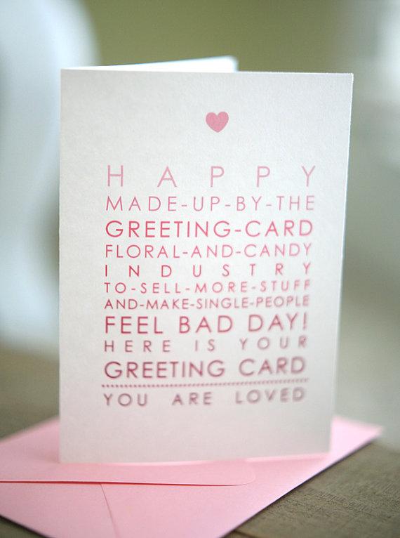 Anti Valentines Day Cards Neatorama