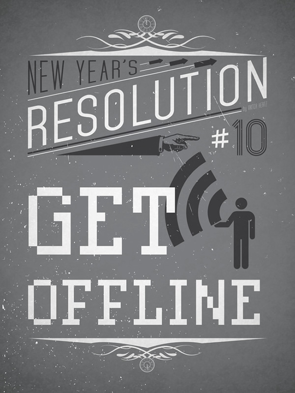 new years resolution new year poster