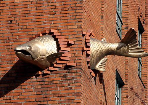 Portland fish and a building?
