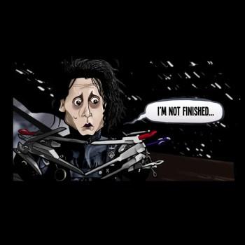 I'm Not Finished (Edward Scissorhands)