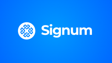 Blockchain Goes Green: Signum - the Truly Sustainable Blockchain Steps Into the Light