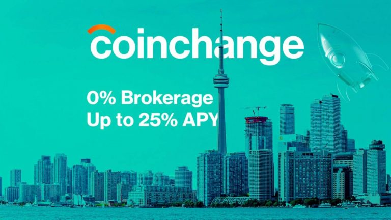 Coinchange Announces Truly 0% Fee Brokerage and 25% APY DeFi Platform That Is Secure and Regulated