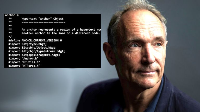 World Wide Web Inventor Tim Berners-Lee Sells NFT for $5.4M — 'Embarrassing' Coding Error Spotted in NFT