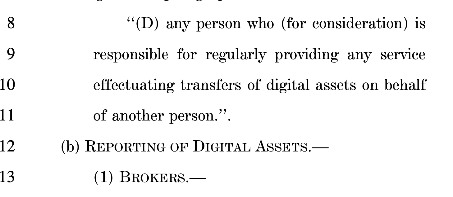 Satoshi Versus the 'Infrastructure Bill' — Political Permission Not Required