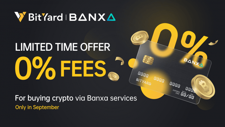 BitYard Has Partnered With Banxa to Expand Fiat Money Deposit Methods Supporting Major Currencies