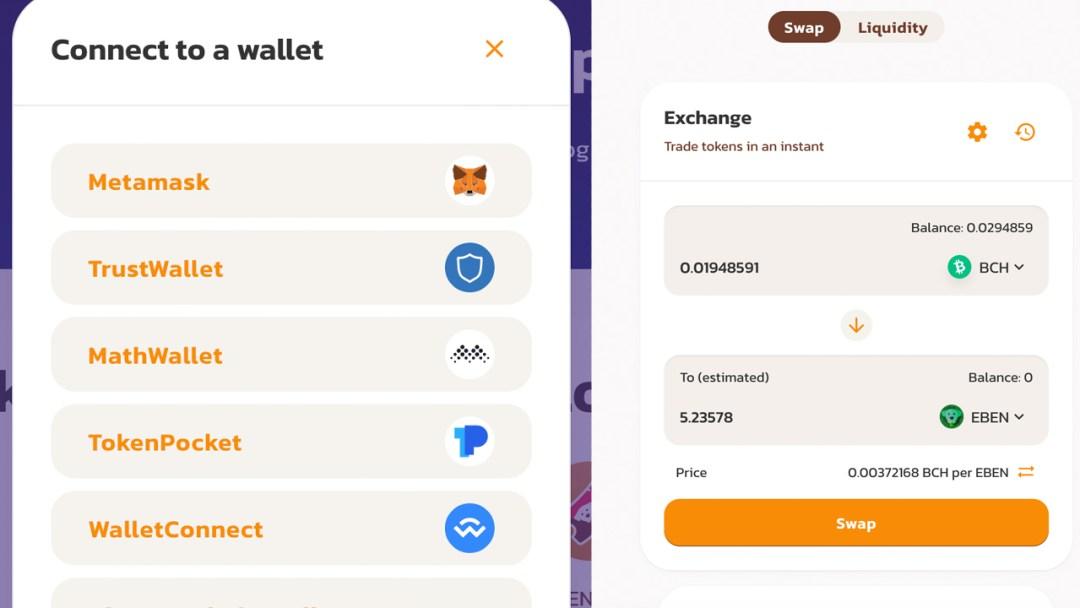 Meet the First BCH Dex Built on Smartbch — Benswap.cash Presents High-Yield Liquidity Pools, Noncustodial Swaps