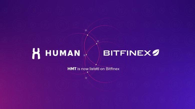 HUMAN Protocol (HMT) Announces Listing on Bitfinex