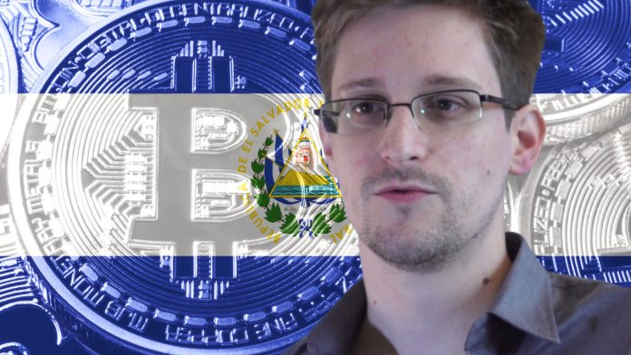 Edward Snowden Says Competing Nations Under Pressure to Acquire Bitcoin Following El Salvador