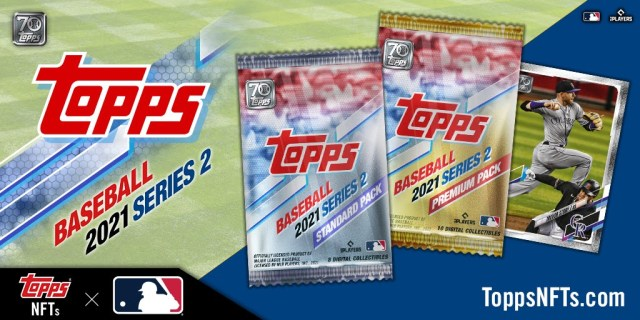 American Collectibles Giant Topps Launches Series 2 MLB NFT Collection