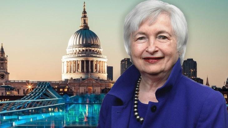 Janet Yellen defende agenda de conformidade fiscal — 3 tesoureiros estaduais prometem não cumprir