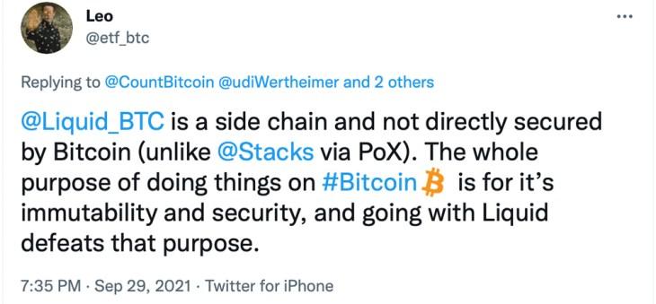 Sidechain líquido do Blockstream criticado sobre a longa paralisação — problema de assinatura de blocos relacionado à atualização