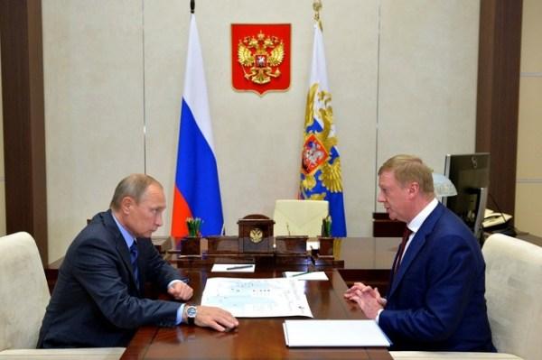 СМИ: Чубайс попросил разрешения уйти на пенсию у Путина ...