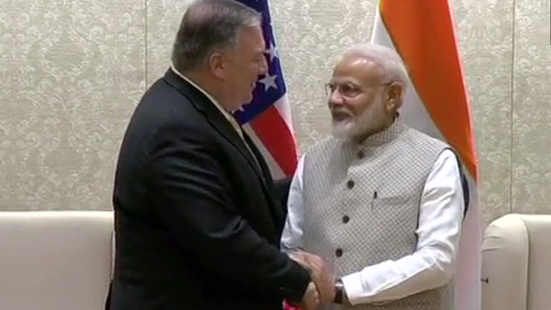 US Secretary of State Mike Pompeo meets Prime Minister ...