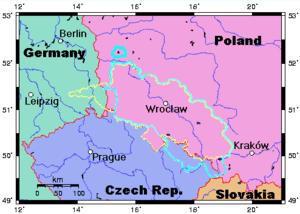 Bildergebnis für teschen silesia map
