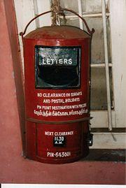 Postal System New World Encyclopedia
