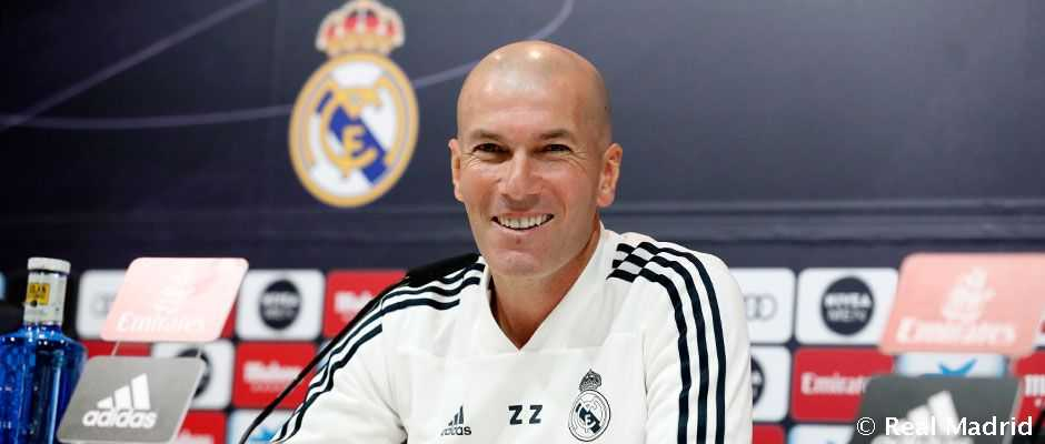 Zidane sito uff Real Madrid