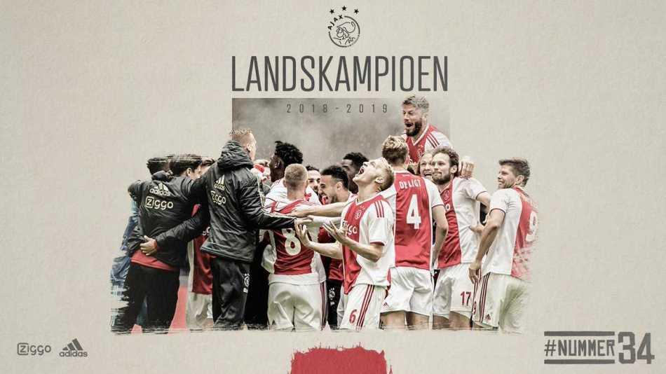 foto twitter ufficiale Ajax