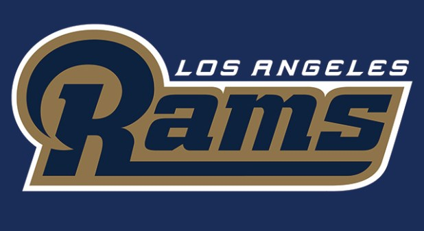 0ap3000000623182 Rams Unveil New Logo Now That They're Moving To Los Angeles