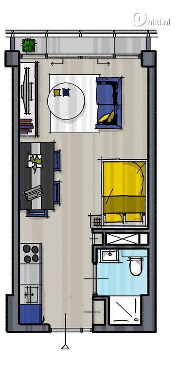 Nieuwbouwproject De Studio PART II in Amsterdam | Appartement